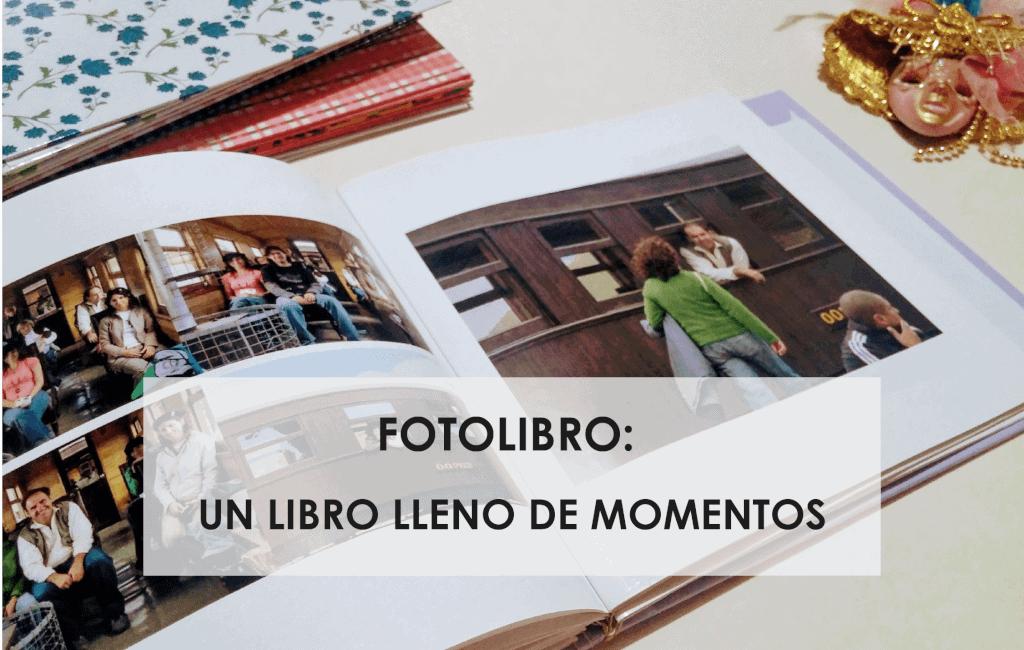 fotolibro un libro lleno de momentos