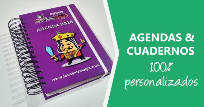 Agendas y Cuadernos 100% personalizados