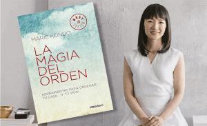 """Marie Kondo y su libro """"La magia del orden"""""""
