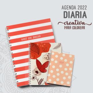 Agenda-Diaria-2022-A5-A4-Pocket-Creativa-Alestra-Ediciones