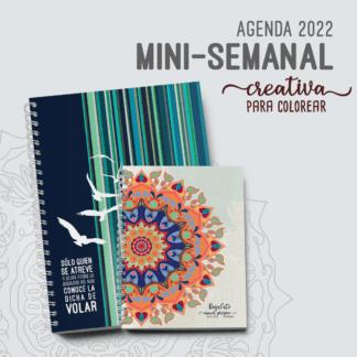 Agenda-Mini-Semanal-Una-semana-por-pagina-2022-A5-A4-Creativa-Alestra-Ediciones