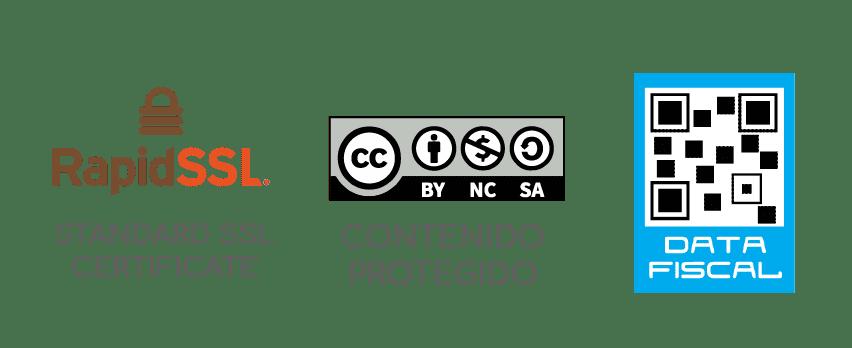 Información de Creative Commons - Rapid SSL - Data fiscal